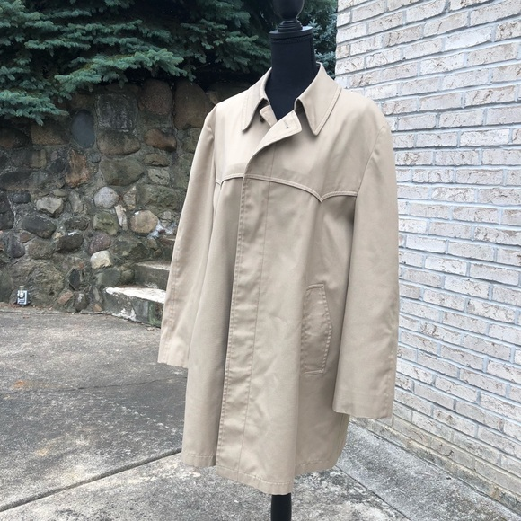 Men S London Fog Rain Coat